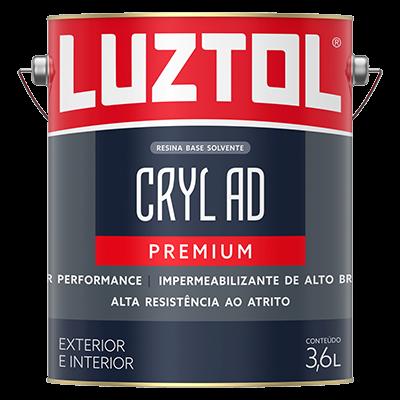 Resina Impermeabilizante Premium Cryl Alto Desempenho Brilhante